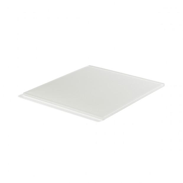 Mealplak white large tray Nacryl