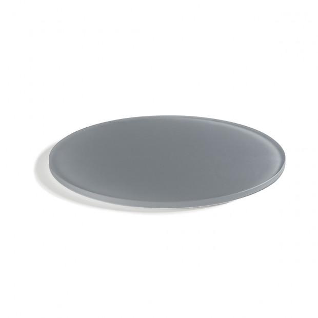 """Mealplak greige round tray ø11.75"""" Nacryl"""