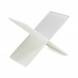 Mealplak white 2 pieces riser Nacryl