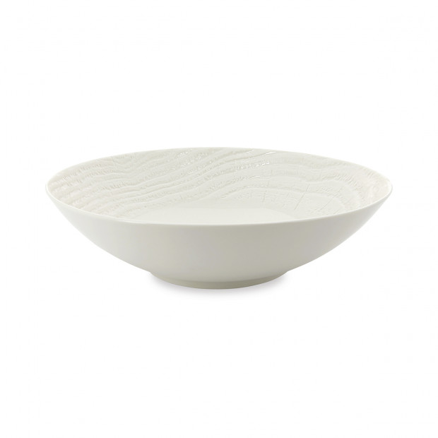 Arborescence large serving bowl Ivory