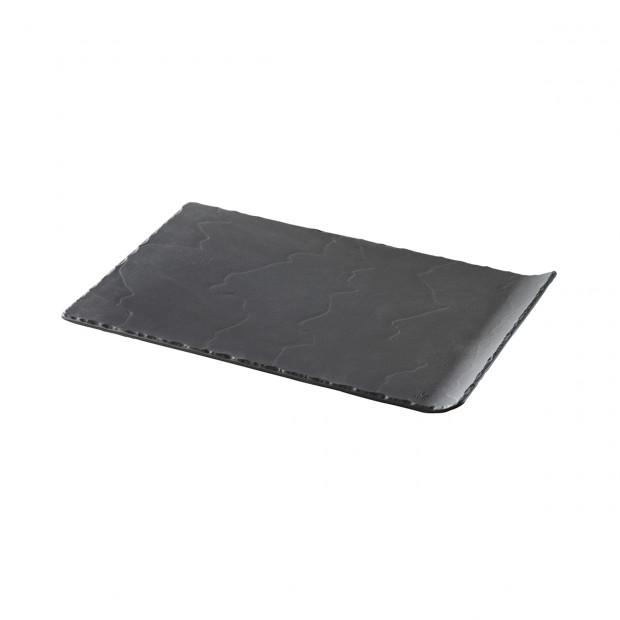 Basalt matt slate style rectangular plate