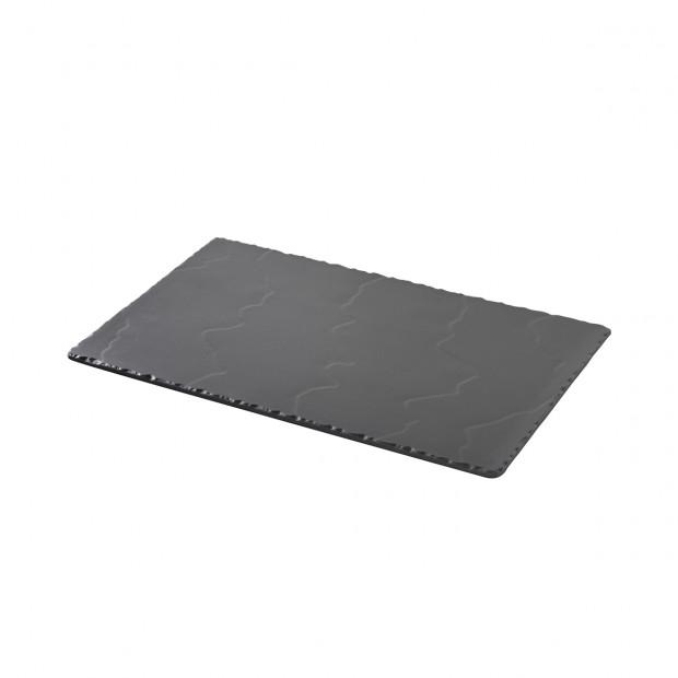 slate-like rectangular tray