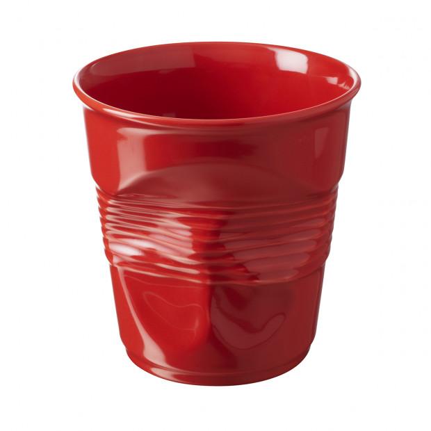 Crumpled pepper red utensil jar