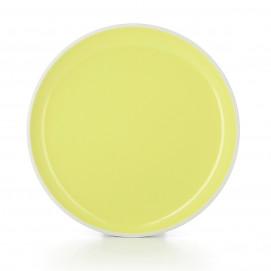 "Color Lab dinner plate ø9.75"" 5 colors"