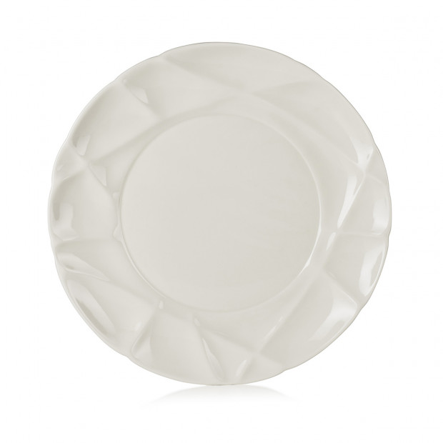 "Succession dinner plate ø10.25"". 2 colors"