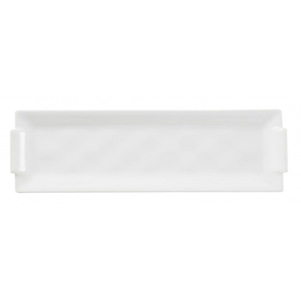 Bombay white long tray