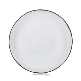 serving bowl Ø12.75 caractere, white cumulus