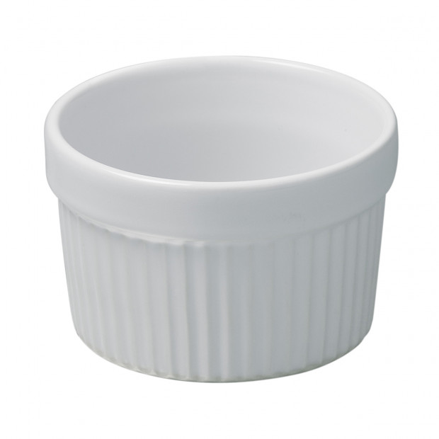 French Classics white souffle dish 4 sizes
