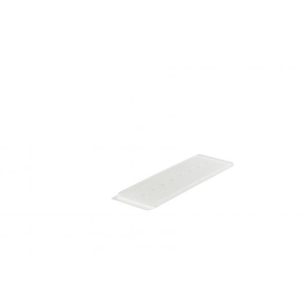 white nacryl tasting tray