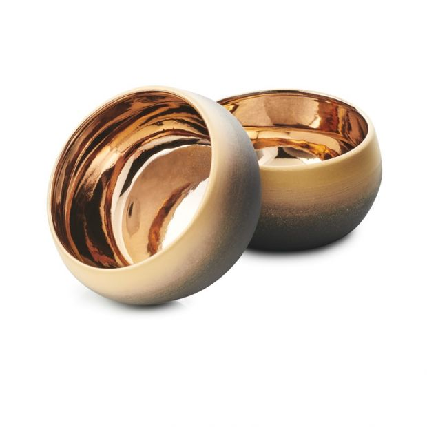 s/2 snack bowls sunset gold solstice