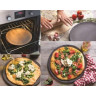 Basalt matt slate style pizza stone 2 sizes