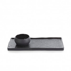 set plate and bowl solstice black moon