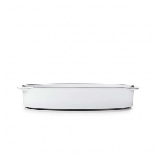 """Rectangular Oblong Dish 13.5"""" x 9.75"""" Caractère, 4 colors"""