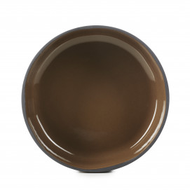 """Equinoxe large coupe plate ø10.75"""" 4 colors"""
