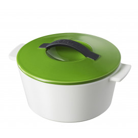 "Revolution round dutch oven lime green ø7.5"" induction"
