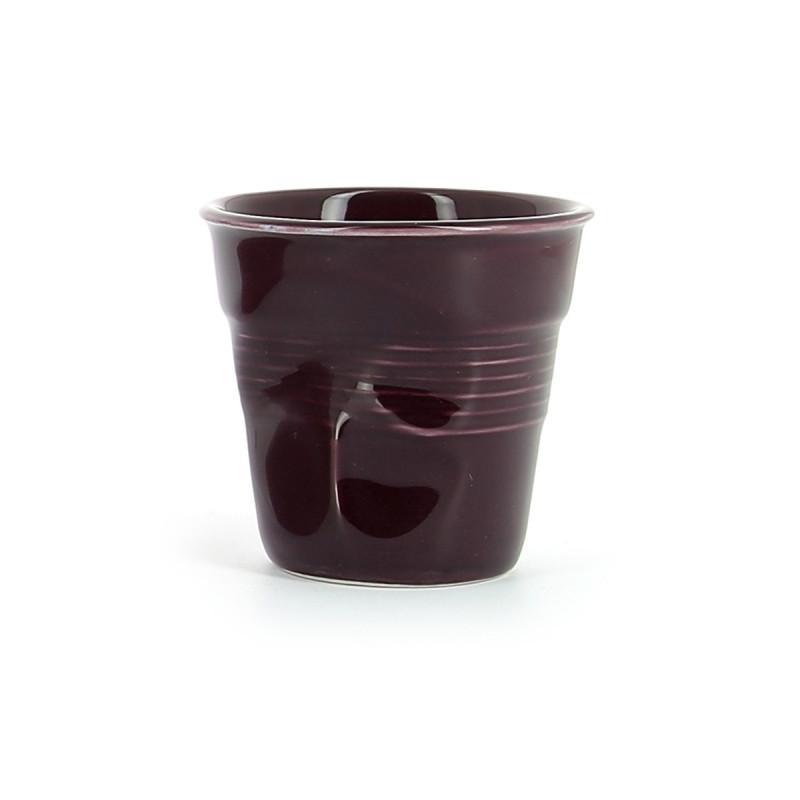 Crumpled Coffee Cups Eggplant Revol