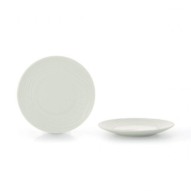 "Arborescence dinner plate ø11.25"" 3 colors"