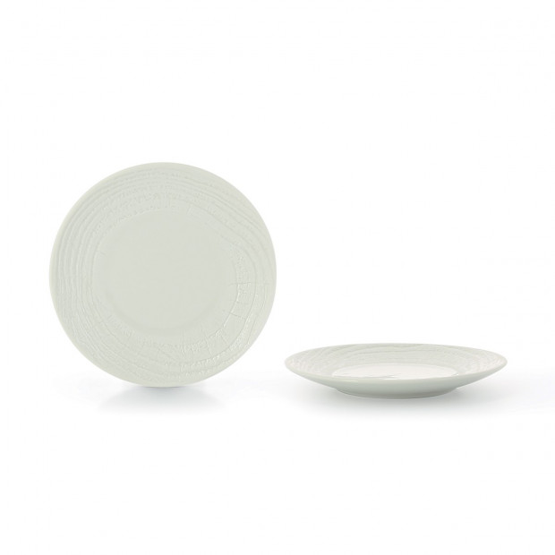 "Arborescence dinner plate ø11.25"" 3 colors"