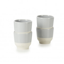 Set of 4 Color Lab espresso cups 4 colors