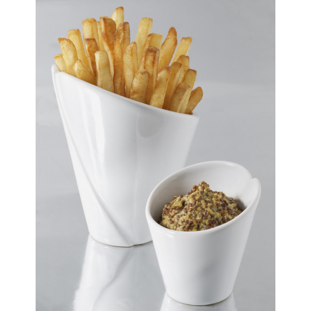 French classics white pasta bowl 2 sizes