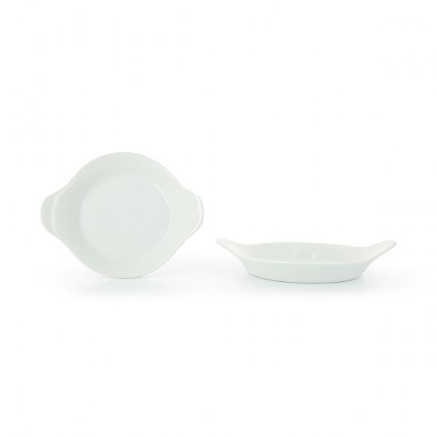 Plat à œuf en porcelaine