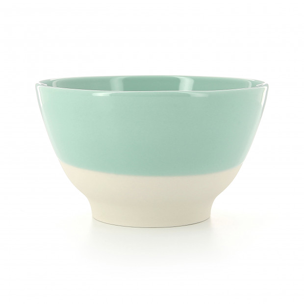 Bol coloré en porcelaine - Vert Céladon