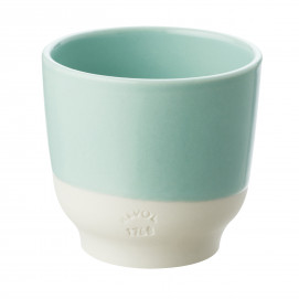 Tasse colorée en porcelaine - Vert Céladon