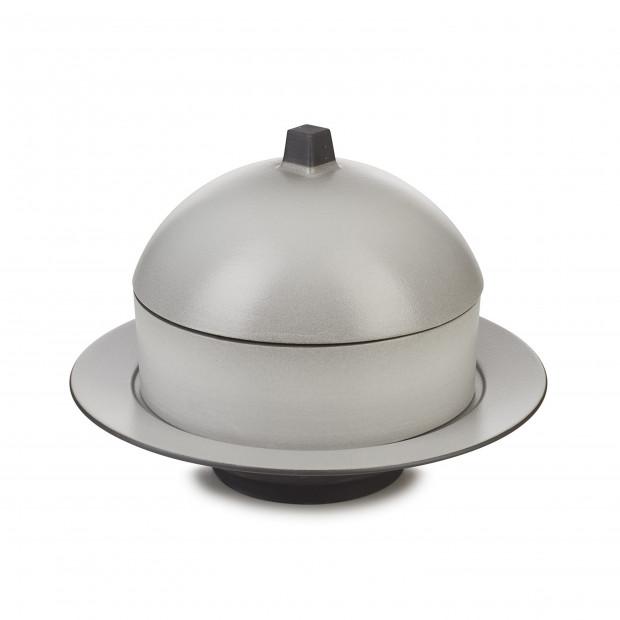 Set Dim Sum panier, cloche, assiette creuse céramique - Poivre