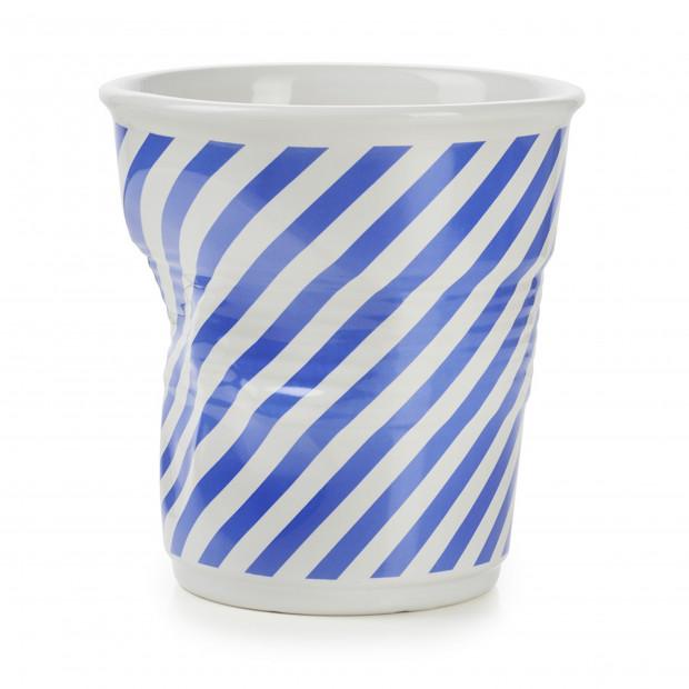Pot à ustensiles Froissés Berlingot en porcelaine