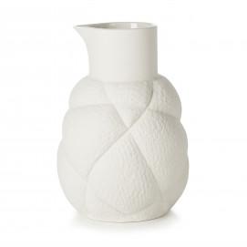 Pichet 75 cl en porcelaine - Blanc