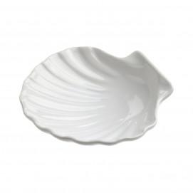 plat coquille saint jacques en porcelaine blanche - french classics