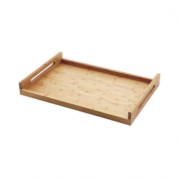 plateau rectangulaire à poignées en bambou - inspired, by revol