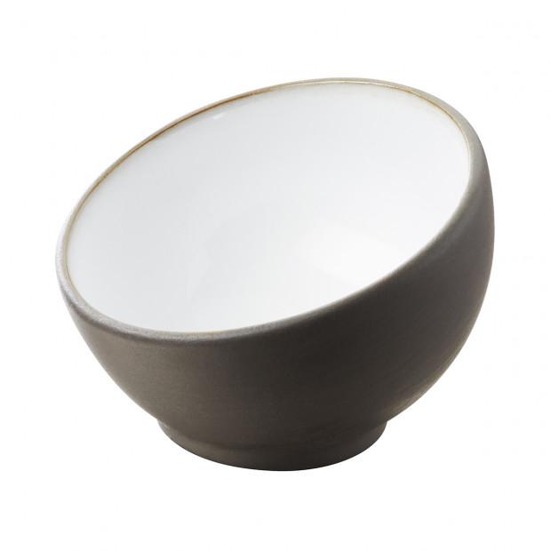 sphere mise en bouche bicolore blanche - solid