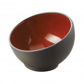 sphere mise en bouche bicolore rouge - solid