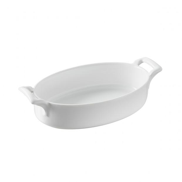 plat ovale profond en porcelaine - belle cuisine