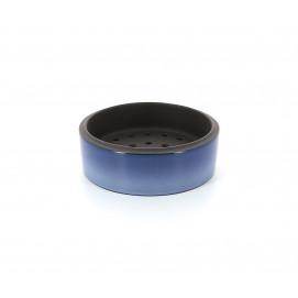 Panier Dim Sum en porcelaine - Bleu Cirrus