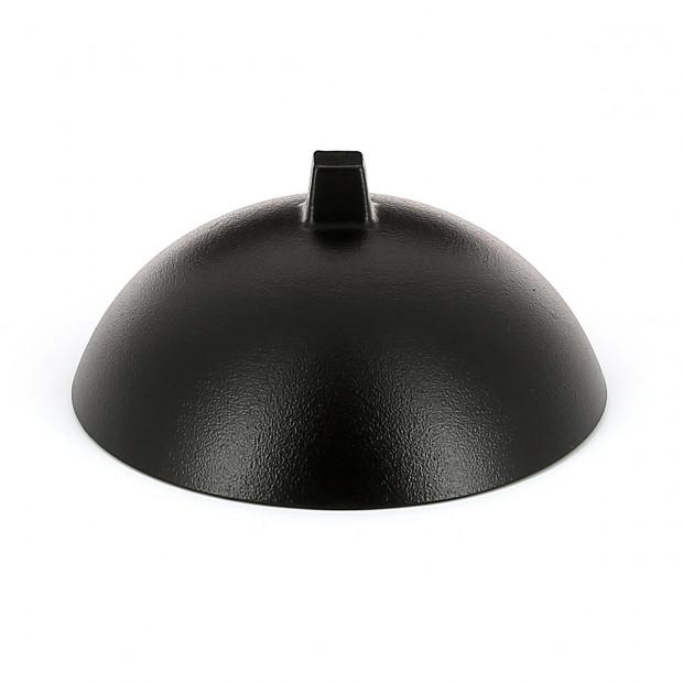 Cloche pour Dim Sum en porcelaine - Noir effet fonte