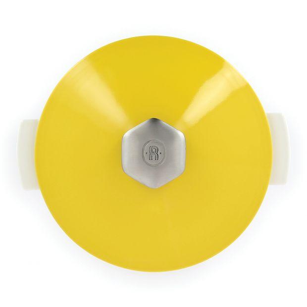 Couvercle jaune pour cocotte révolution