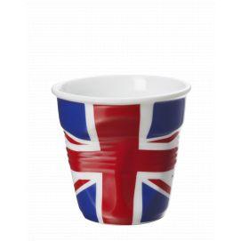 Froissé espresso décoré Royaume Uni