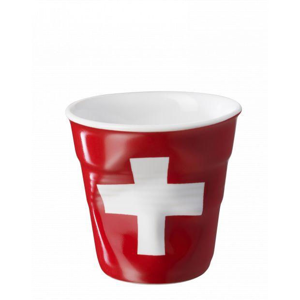 Froissé espresso décoré Suisse