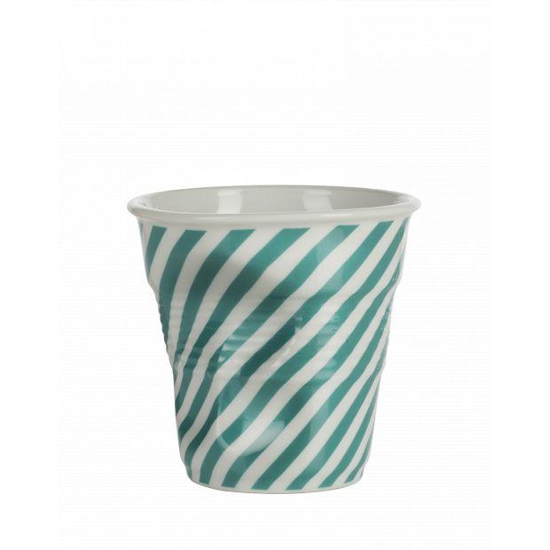 Froissé cappuccino décoré Berlingot vert