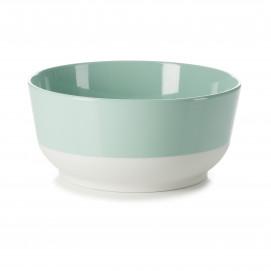 Saladier coloré en porcelaine - Vert Céladon