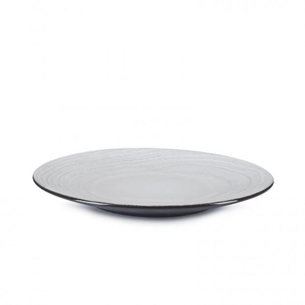 Assiette plate - White Sand