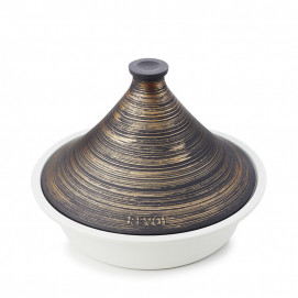 Tajine en céramique sans induction - Bleu Touareg