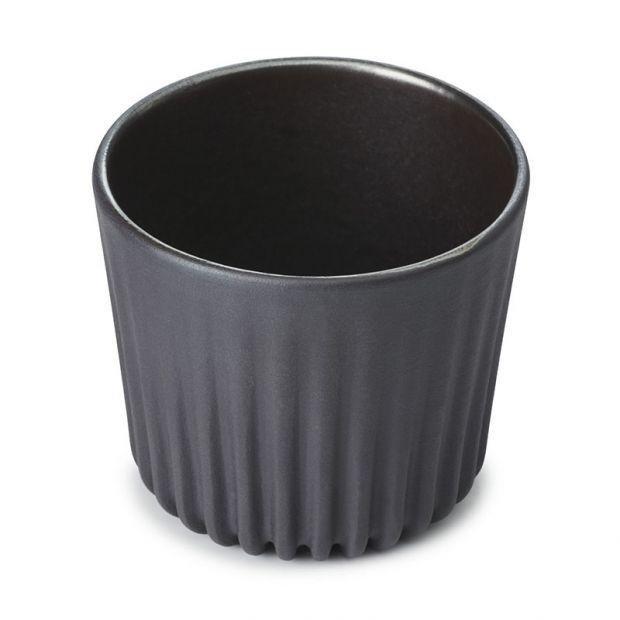 Tasse à thé 8cl - Dark Metal
