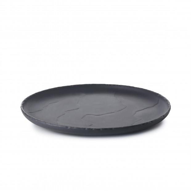 Assiette Coupe Plate Basalt 21cm