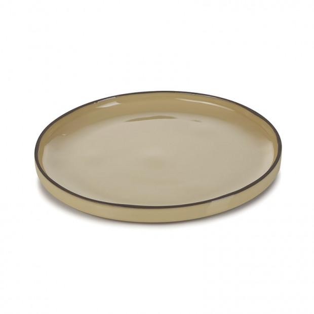 Assiette Gourmande 14 cm Caractère Blanc Cumulus