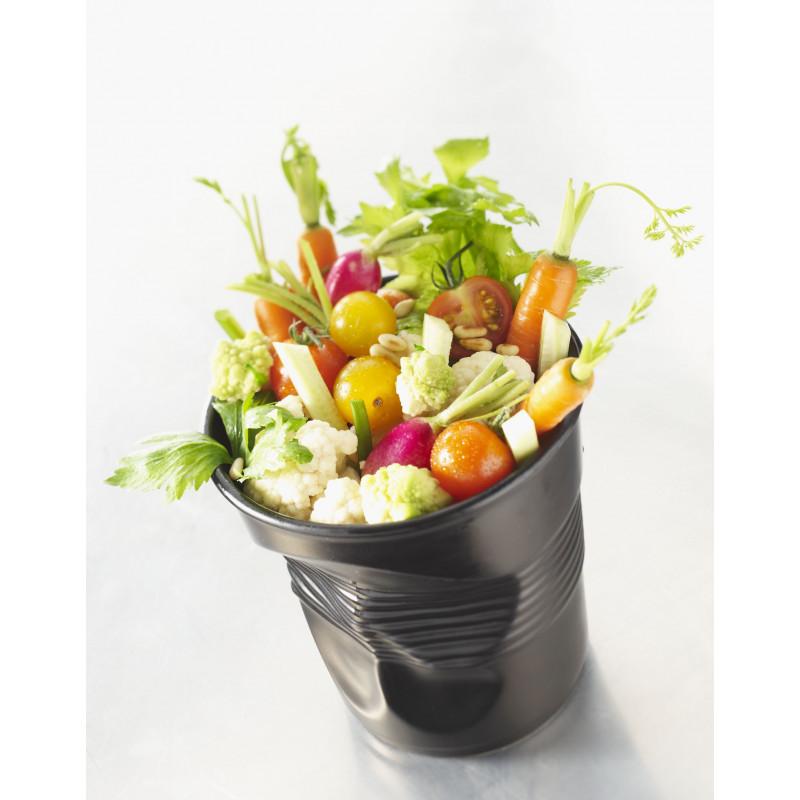 Pot ustensiles froiss en porcelaine - Pot a ustensiles cuisine ...