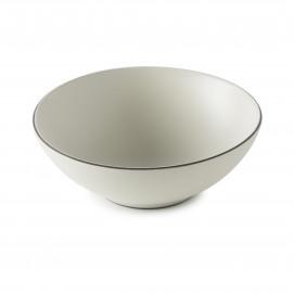 Coupe en Porcelaine Equinoxe Edition Collector - Blanc Coton - 35 cl