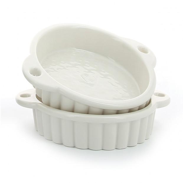 Tartelette en porcelaine
